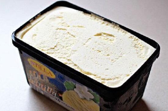 chuẩn bị một hộp kem