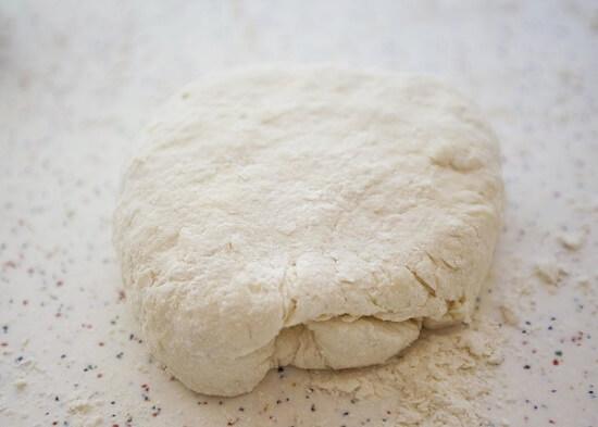 khối bột bánh mịn mềm