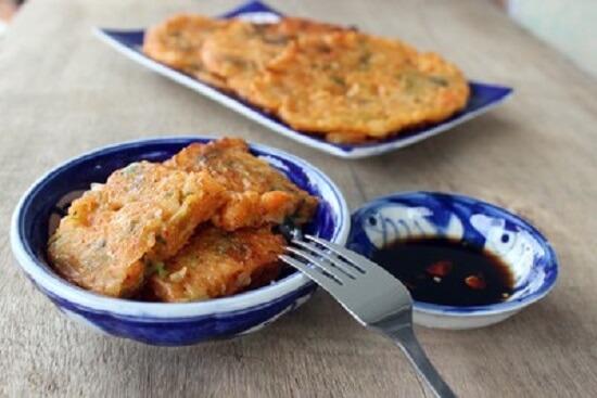 bánh kim chi Hàn Quốc hấp dẫn