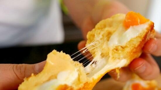 Cách làm bánh mì trứng Hàn Quốc siêu ngon 6