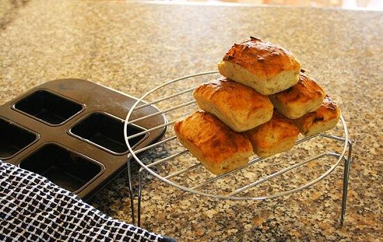 bánh mì chuối nướng