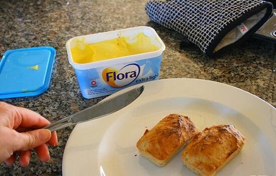 ăn kèm bánh với bơ