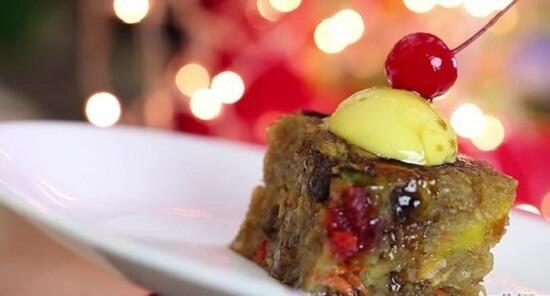 bánh pudding thập cẩm