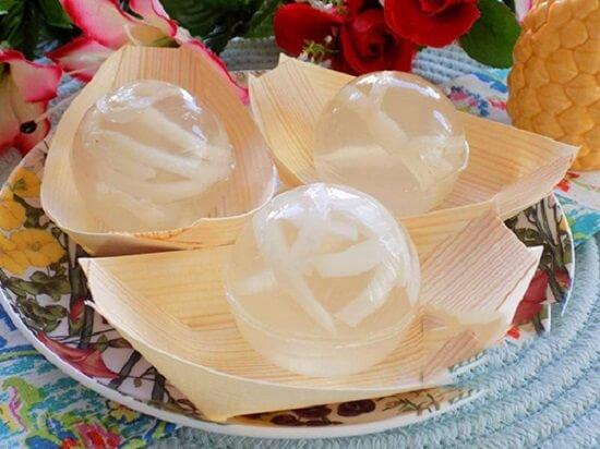 , Cách chế biến rau câu dừa thơm mát ngày hè