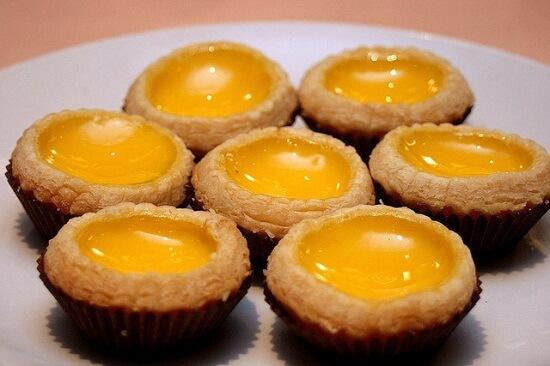 Bước cuối cùng để làm bánh trứng nướng