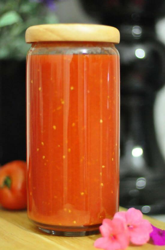 Công thức làm tương cà chua tại nhà 7