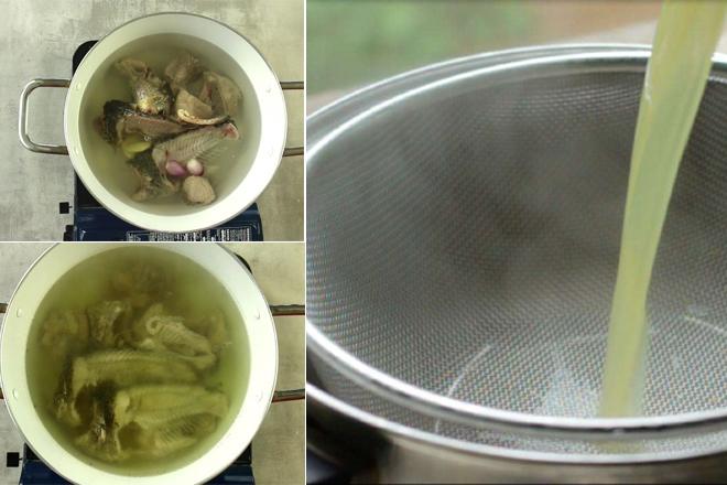 bún cá rô, Cách làm bún cá rô siêu ngon tại nhà
