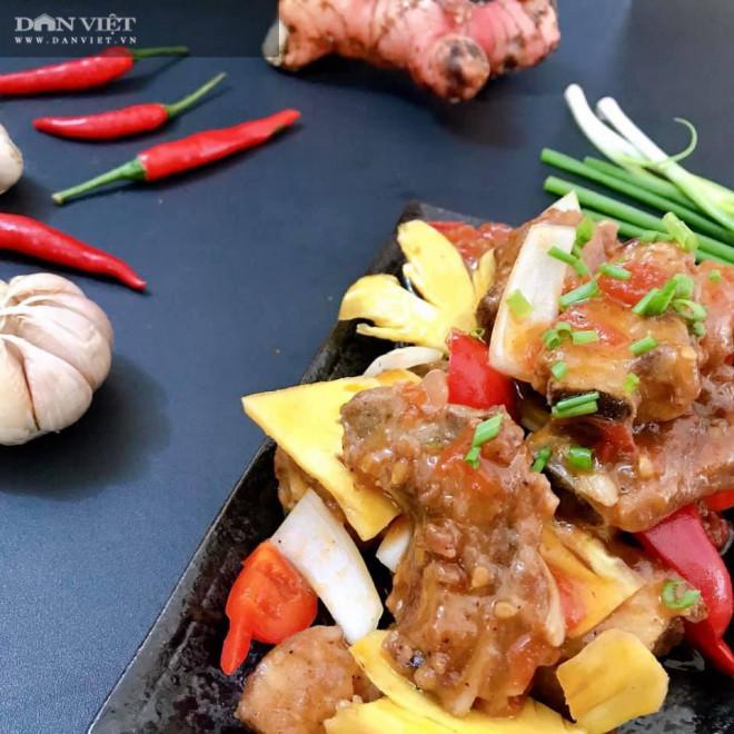 Cách làm món sườn xào chua ngọt kiểu Trung Hoa đậm đà thơm ngon - 5