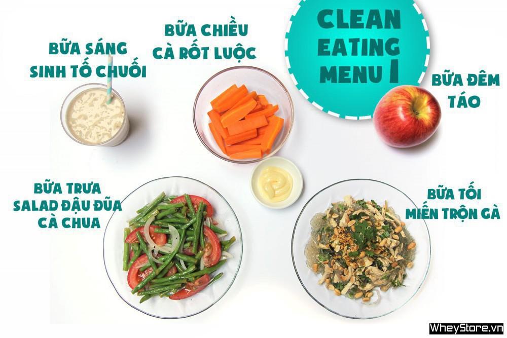 Thực đơn Eat Clean 7 ngày tăng cơ đốt mỡ cấp tốc - Ảnh 1