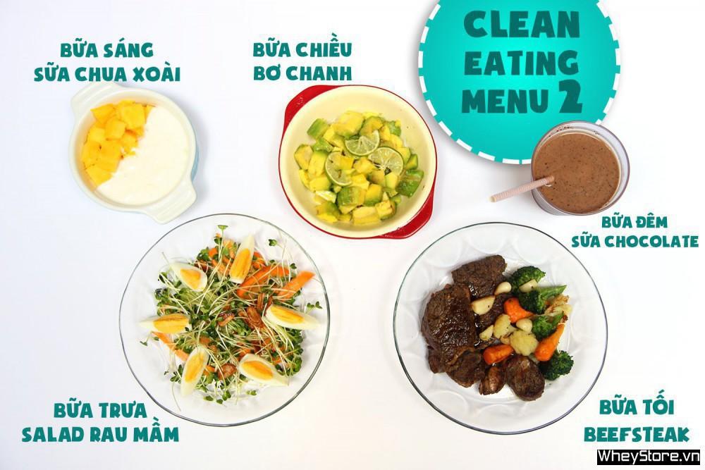 Thực đơn Eat Clean 7 ngày tăng cơ đốt mỡ cấp tốc - Ảnh 2