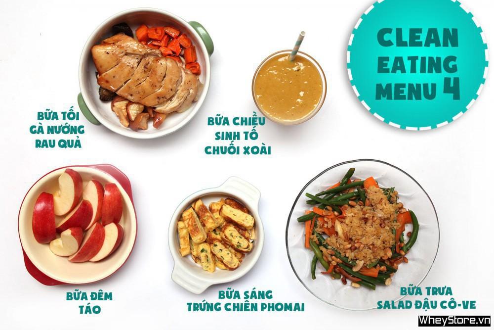 Thực đơn Eat Clean 7 ngày tăng cơ đốt mỡ cấp tốc - Ảnh 4