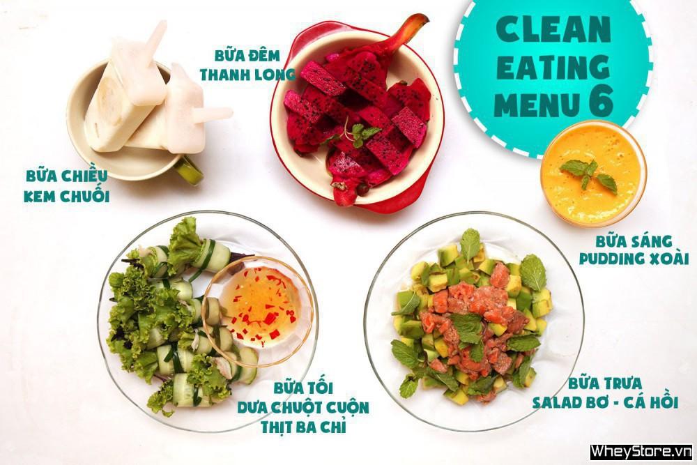 Thực đơn Eat Clean 7 ngày tăng cơ đốt mỡ cấp tốc - Ảnh 6