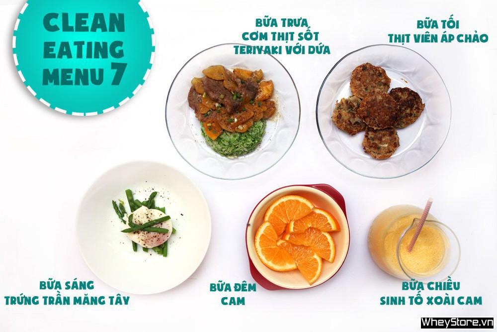 Thực đơn Eat Clean 7 ngày tăng cơ đốt mỡ cấp tốc - Ảnh 7
