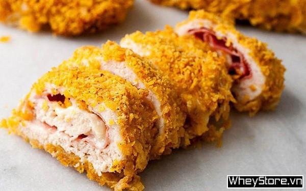 Ức gà làm gì ngon? 10 món ngon từ ức gà mà không ngán, không khô - Ảnh 8