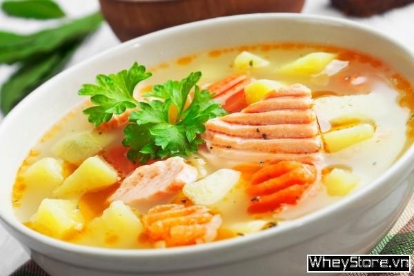 Cá hồi làm gì ngon? 10 món ăn đổi bữa từ cá hồi cho dân thể hình - Ảnh 3