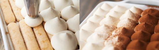 Cách làm bánh tiramisu kem Pho Mai ngon tuyệt - bánh tiramisu