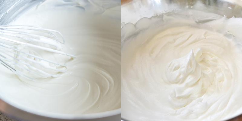 Lòng trắng trứng ở nhiệt độ phòng dễ bông hơn lòng trắng ở nhiệt độ lạnh