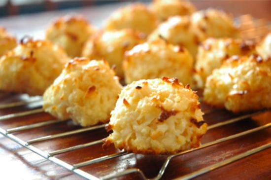 Bánh dừa nướng đã được ra lò
