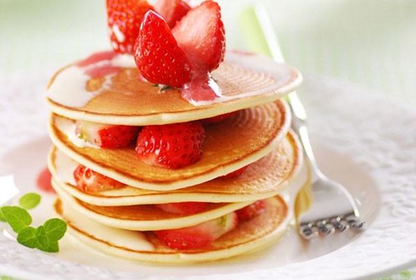 """Cách làm bánh Pancake ngon """"vạn người mê"""" - cách làm pancake"""