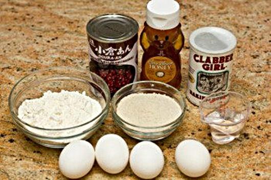 Cách làm bánh rán doremon - chuẩn bị nguyên liệu để làm bánh rán