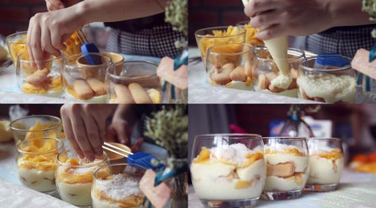 Cách làm bánh tiramisu hoa quả ngon tuyệt ngay tại nhà - banh tiramisu