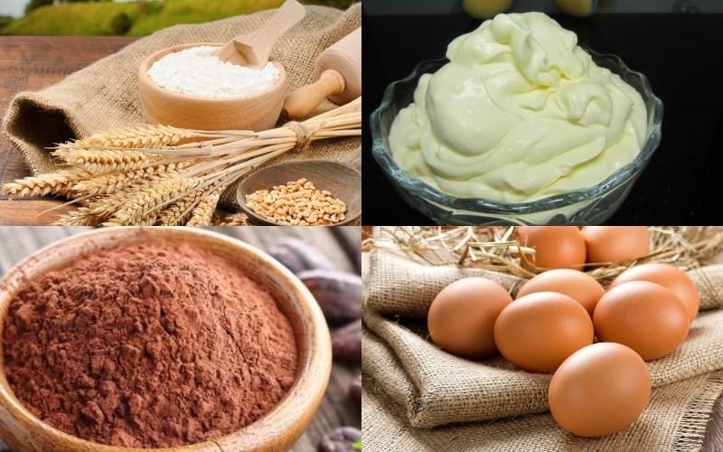 Nguyên liệu món ăn bánh trung thu tiramisu