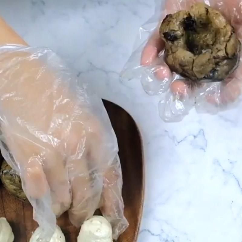 Bước 3 Làm nhân bánh Bánh Trung Thu nhân oreo