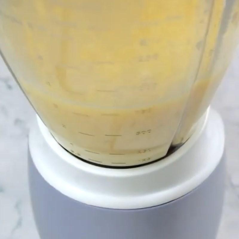 Bước 1 Nấu và xay đậu xanh Bánh Trung Thu nhân oreo