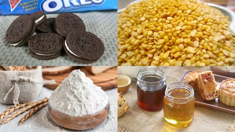 Nguyên liệu món ăn bánh trung thu oreo