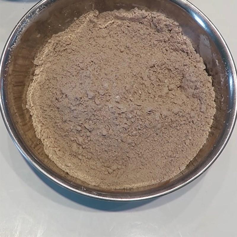 Bước 3 Trộn bột bánh Bánh Trung Thu socola nhân dừa
