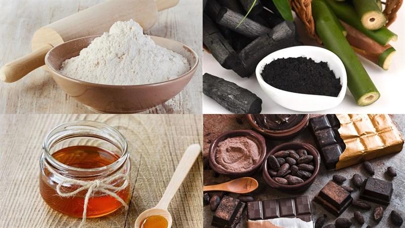Nguyên liệu món ăn bánh trung thu lava socola