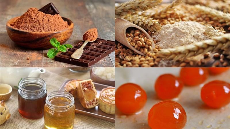 Nguyên liệu món ăn 3 cách làm bánh trung thu socola